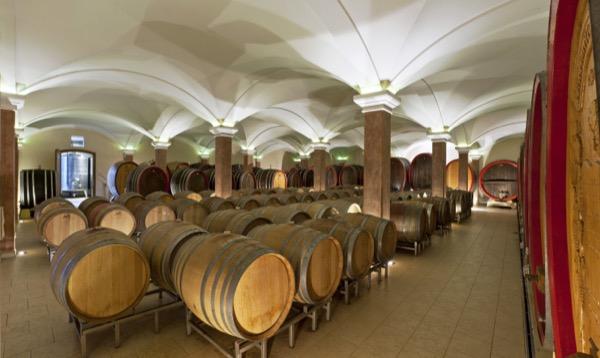 Weingut Machmer Weinkeller Holzfass