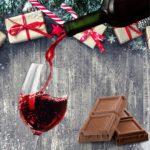 Wein und Scholkolade Paket