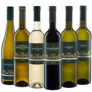 Weingut Machmer - Weinprobier Paket G&M feinherb - feinherbe Weine aus dem Bio Weingut