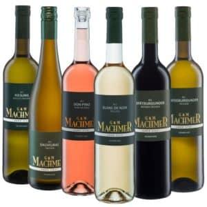 Weingut Machmer - Weinprobier Paket G&M trocken - trockene Weine aus dem Bio Weingut
