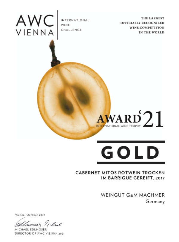 Weingut Machmer Auszeichnung - AWC-Vienna-2021